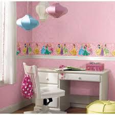 Wall Borders Disney Princesses Prepasted Wall Border Pink True Princess