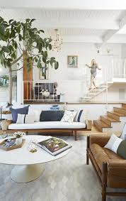 Home Decor In Miami by White Living Room Decor Ideas Example Of A Trendy Living Room
