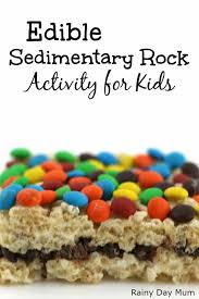 edible rocks edible sedimentary rock activity simple geology for kids