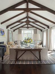 vaulted ceiling beams white living rooms vaulted ceilings beams decorathing