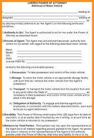 Power Of Attorney Form Ohio Bmv by 12 Automotive Power Of Attorney Form Scholarship Letter