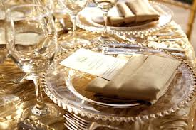 Wedding Linens For Sale Gold Beaded Charger Plates U2013 Instavite Me