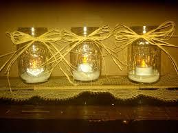 Mason Jar Wedding Centerpieces Simple Mason Jar Floating Candle Wedding Centerpieces Ipunya