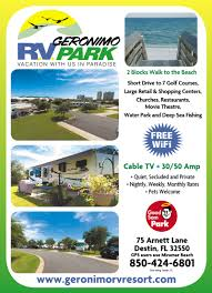 Where Is Destin Florida On The Map Fort Walton Beach Florida Rv Parks Fort Walton Beach Campgrounds