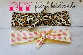 fabric headbands hello kelcey diy knotted fabric headbands