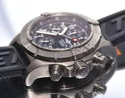 breitling titanium bracelet images Breitling 44mm quot chrono avenger quot chronometer in titanium passions jpg