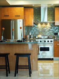 kitchen stove backsplash ideas stainless steel subway tile