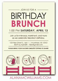 birthday brunch invitations birthday brunch invitations perfected