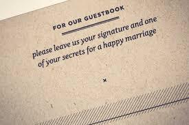 modern wedding guest book steven s wedding day details