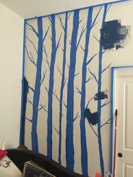 diy birch tree mural birchtreeblog2