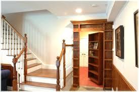 Minecraft Secret Bookshelf Door Bookcase Hidden Swingin Bookshelf Door Open Diy Outswing Hidden
