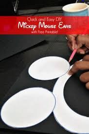 a happy mum a kids u0027 favourite how to make diy mickey minnie
