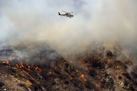 Wildfire California 2016 by Two Uncontained Wildfires Are Roaring Northeast Of Los Angeles