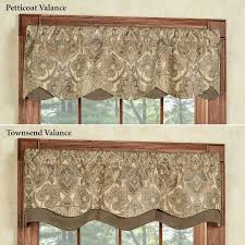adorable kitchen curtains and valances and best 25 brown kitchen