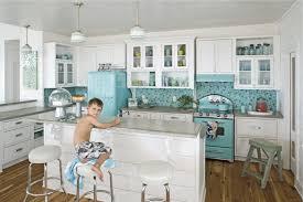 blue kitchen backsplash kitchen endearing blue white retro country kitchen decoration