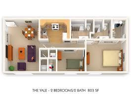 floor plans the ivy club