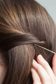 long hair that comes to a point 21 bobby pin hairstyles you can do in minutes