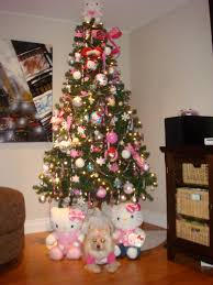 hello kitty christmas tree and decorations hello kitty