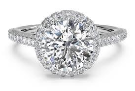 platinum halo engagement rings cut set halo band engagement ring in platinum