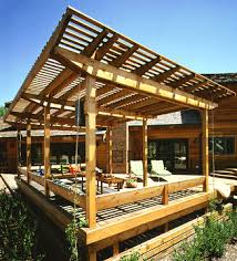 what about a lovely roof covering over your deck contact aa