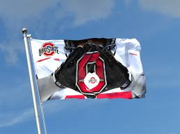 Alabama Yard Flag Flag Of Ncaa Collage Football Ohio State Buckeyes Player White