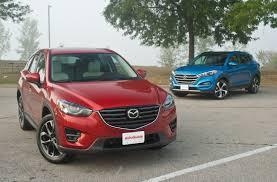 mazda suv models list 2016 mazda cx 5 vs 2016 hyundai tucson autoguide com news