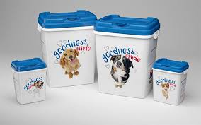 Decorative Dog Food Storage Container - dog food storage containers 15kg tin dog food storage containers