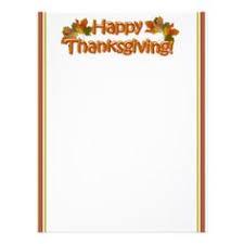 Thanksgiving Stationery Free Thanksgiving Stationery Thanksgiving Letterhead M117m B