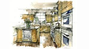 tutorial hand rendering rapid watercolor kitchen 160305 youtube
