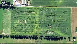 Denver Botanic Gardens Corn Maze 21 Mazes That Turn Earth Into Picture Puzzles