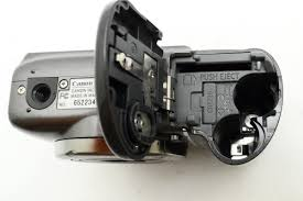 canon powershot a590 is 8mp 4x optical zoom pc1263 camera broken