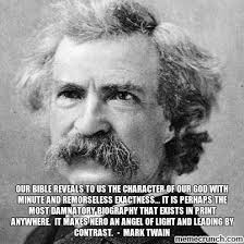 Mark Twain Memes - twain on god