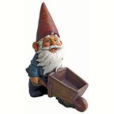 only 32 90 wheelbarrow willie garden gnome statue 846092070299
