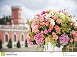 wedding flowers decoration decoration of wedding flowers royalty free stock photography