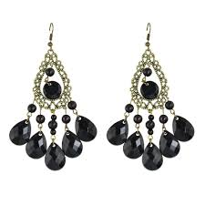 blue chandelier earrings 2018 vintage jewelry blue chandelier earrings water drop
