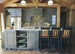 black kitchen cabinets in log cabin image result for log cabin gray kitchen cabinets rustic