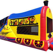 Halloween Inflatable Train Inflatables Christopher Equipment