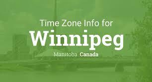 Cst Time Zone Map by Daylight Saving Time Dates For Canada U2013 Manitoba U2013 Winnipeg