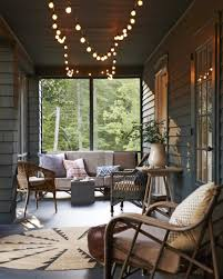 country living front porch lights photo by monica buck i