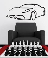 wall decals for home wall vinyl stickers vinyl art decals vinyl wall decal sticker car outline 1158