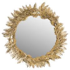 shop safavieh shana feather antique brass polished wall