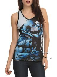 spirit halloween batman shirt dc comics batman catwoman kiss girls tank top topic