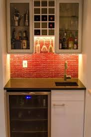 small wet bar sink wet bar cabinets with sink this little wet bar area is oh so cool
