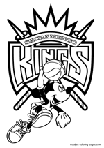 basketball coloring pages nba sacramento kings nba coloring pages