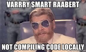 Bollywood Meme Generator - varrry smart raabert not compiling code locally loin bollywood
