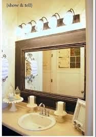 Frame A Bathroom Mirror With Molding Framing Mirrors With Crown Molding Mirror Molding Mirror Molding