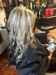 platinum blonde and dark brown highlights awesome platinum blonde with lowlights and dark brown underneath