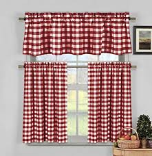 Best Places To Buy Curtains Fascinating White And Red Kitchen Curtains 16 For Best Place To