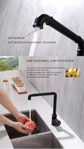 kitchen cabinet sink faucets new mechanical necked brass black kitchen cabinets sink faucet buy kitchen cabinets blsck rotated industrial lever heavy modern gold high