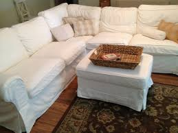 Diy Sofa Slipcover by Ideas Chic Pottery Barn Slipcovers For Better Sofa And Chair Look
